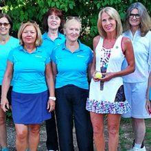 Tennis Damen 50 sind Bezirksligameister