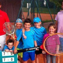 U9-Tennismannschaft ist Vizemeister