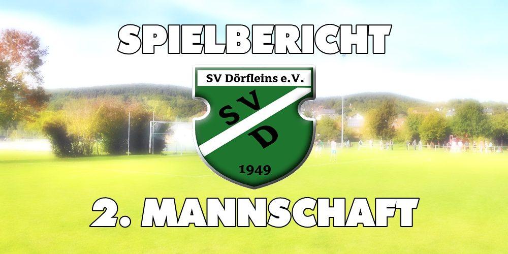 Dörfleins 2 gelingt Erfolg in Ebensfeld