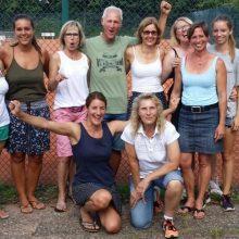 Meister! Tennis-Damen gewinnen das Rennen um den Titel