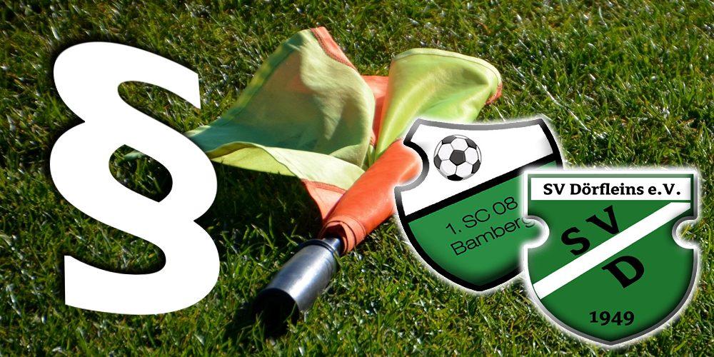 SC Bamberg – SV Dörfleins 2 wird wiederholt