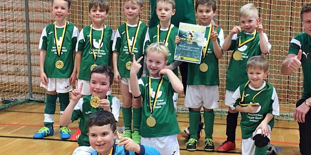 G-Junioren in Breitengüßbach erfolgreich