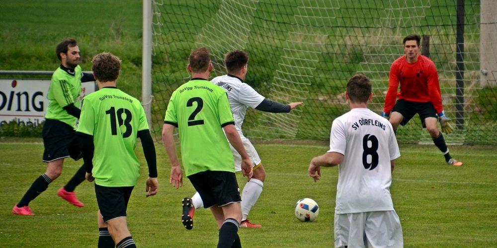 2:0-Erfolg in Trunstadt – Dörfleins hat die Chance auf Platz zwei in eigener Hand