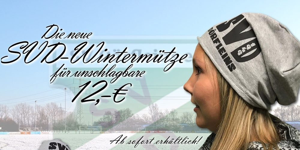 Ab sofort erhältlich: Die neuen SVD-Wintermützen