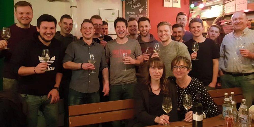 Webers Weinhandel lud zum Weinabend