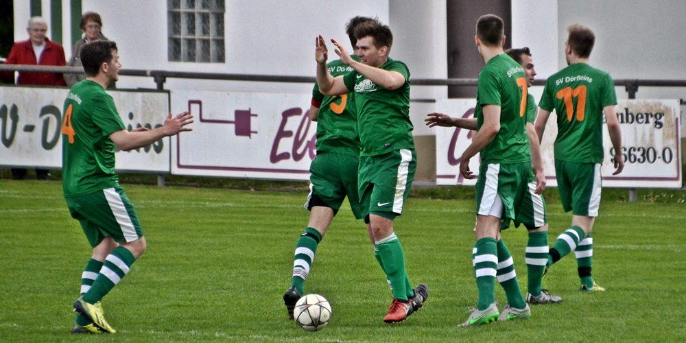 """Dörfleins nach 3:0-Erfolg Rückrundenmeister – 9 der letzten 10 Spiele """"zu Null"""" gewonnen"""