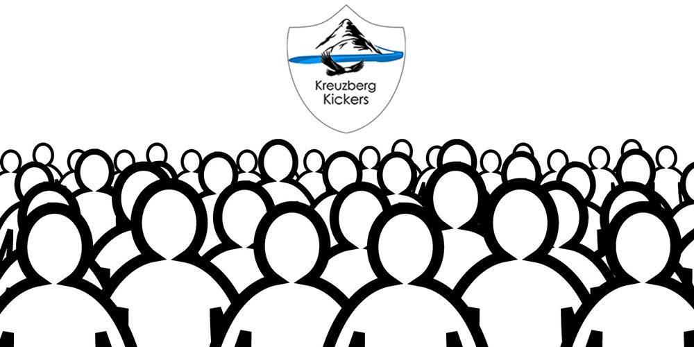 Jahreshauptversammlung der Kreuzberg Kickers