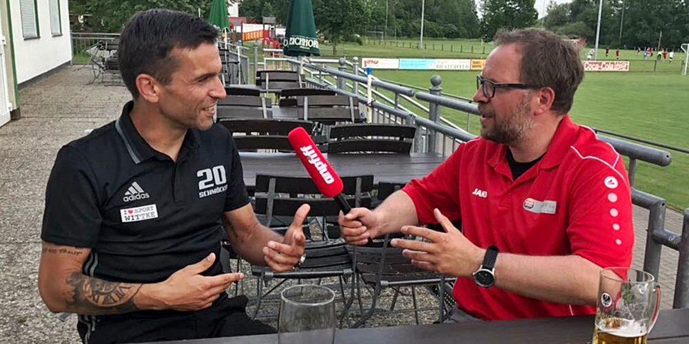Spielertrainer Mario Herrmannsdörfer im Video-Interview
