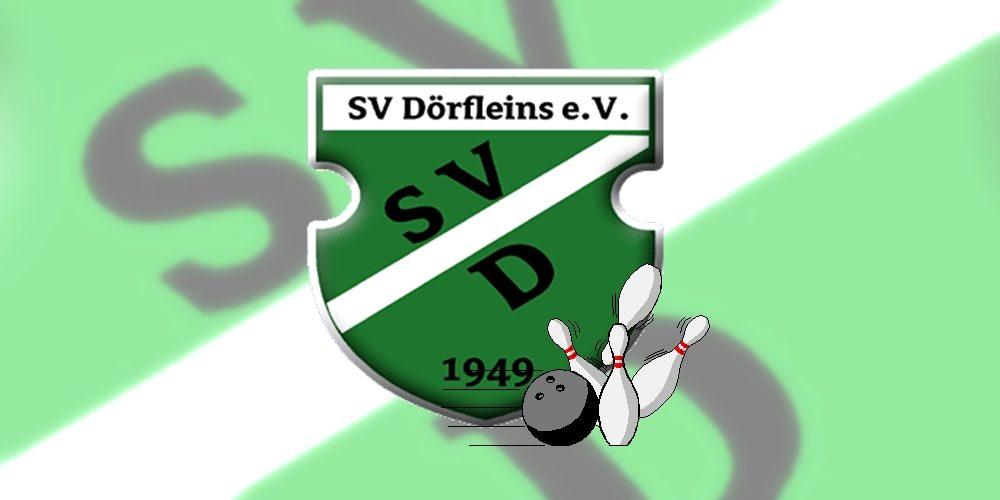 Dörfleinser Kegler wollen ins Viertelfinale