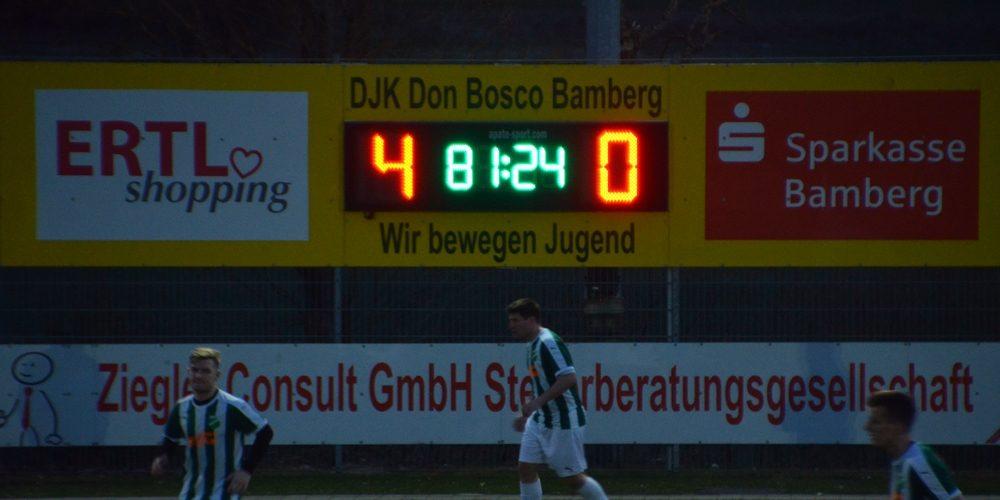 0:4-Klatsche bei Don Bosco