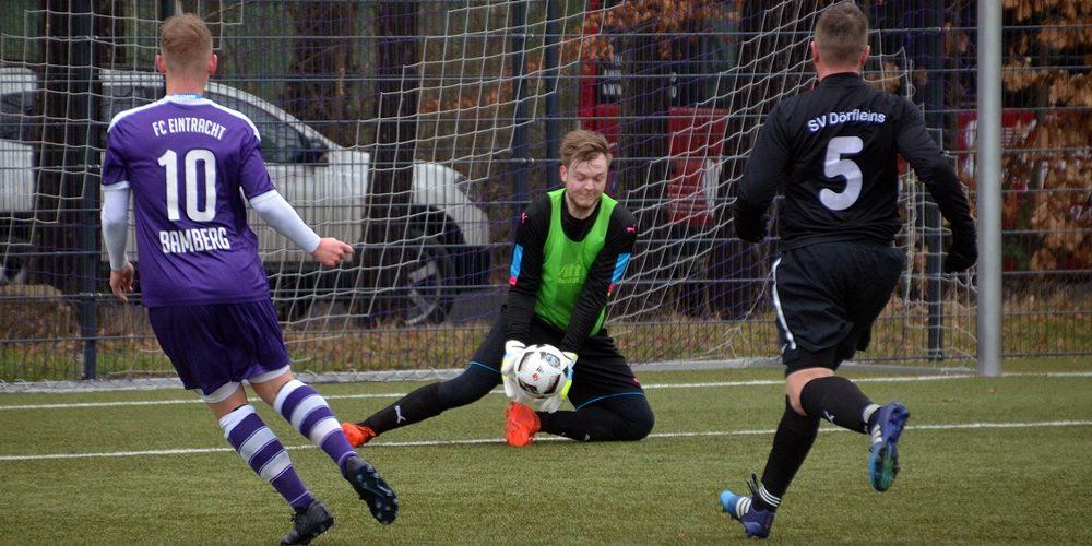 Knappe Niederlage gegen A-Junioren des FC Eintracht Bamberg