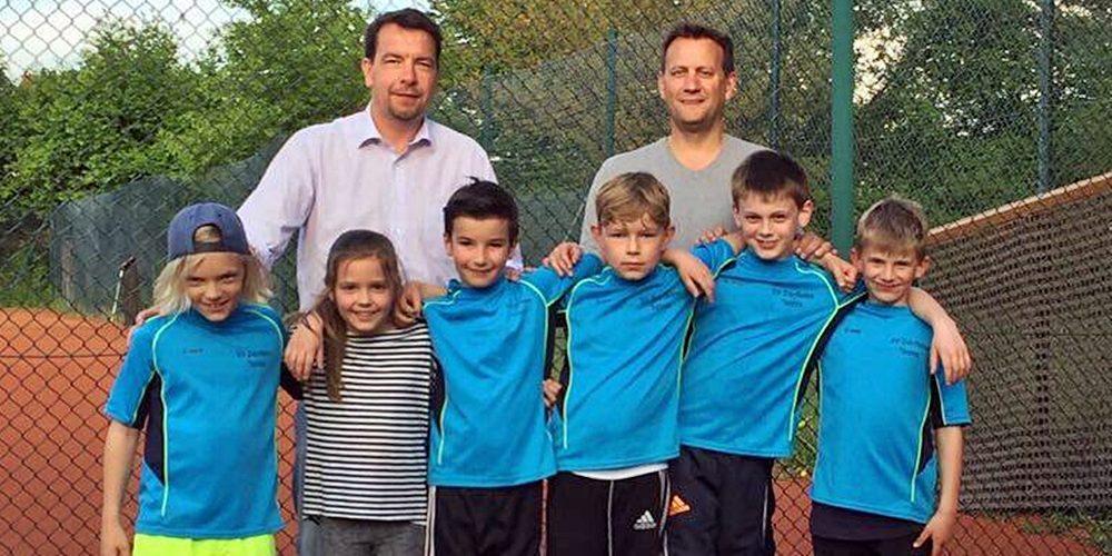Tennis-U9 erfolgreich in die neue Saison gestartet