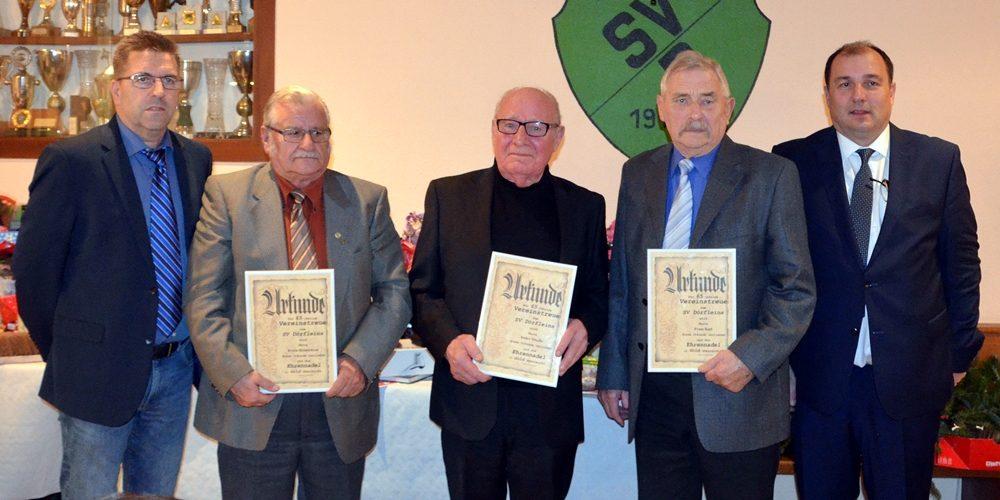 SV Dörfleins ehrt 56 treue Jubilare